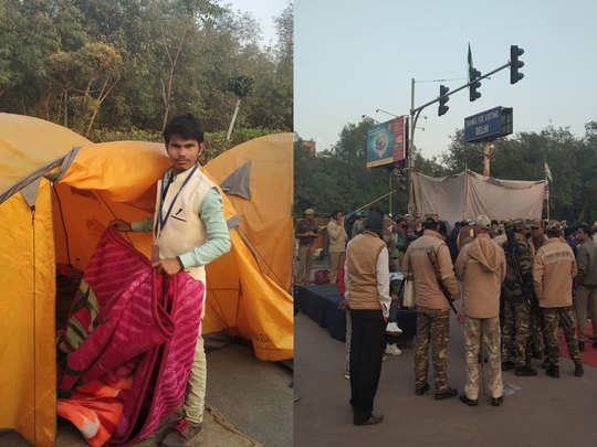 tents uprooted at farmers protest sites signals kisan andolan is started ending