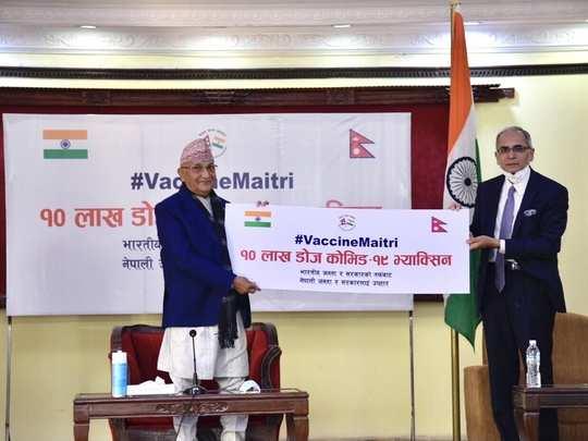 Nepal Vaccine India 01
