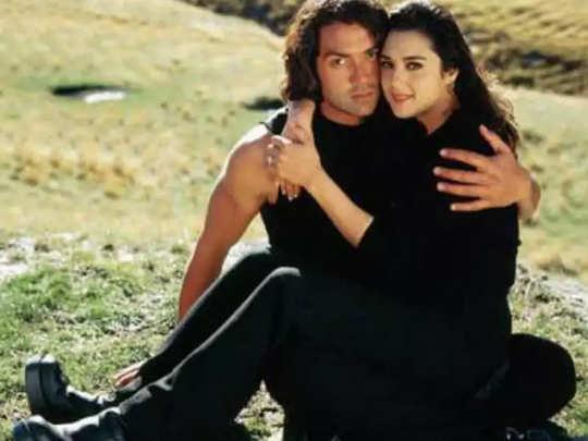 Bobby Deol And Preity Zinta
