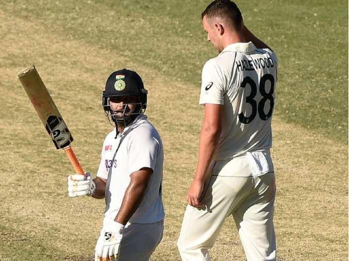 Rishabh Pant in Gabba Test 4th Innings