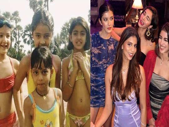 Ananya Panday Navya naveli Suhana khan and Shanaya