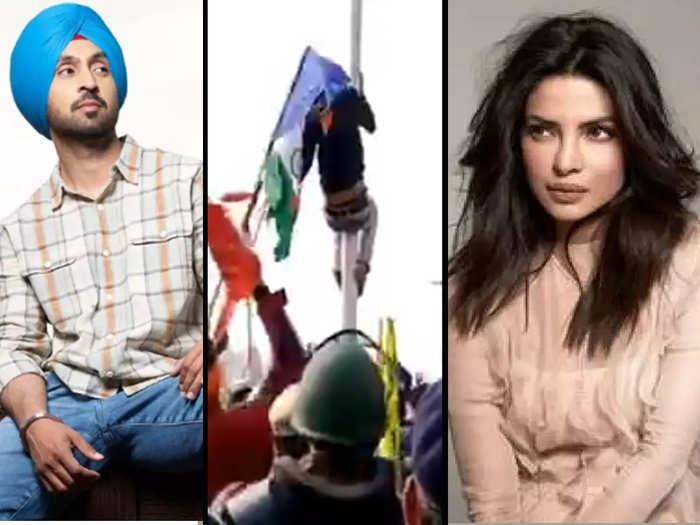 Bollywood celebs silent on Farmers Tractor Rally Violence