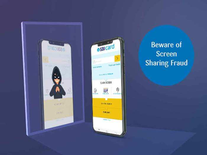 screen sharing fraud: thugs have found a new way to trap, sbi is alerting customers