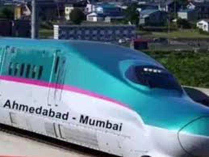 यह देश की पहली बुलेट ट्रेन परियोजना है।