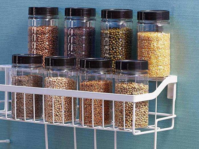 Storage Jars On Amazon : Amazon से खरीदें Airtight Jars और अपने खाने के सामान को रखें सीलन से सुरक्षित