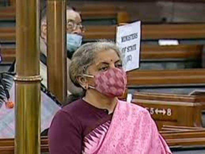 वित्त मंत्री निर्मला सीतारमन ने इकनॉमिक सर्वे संसद में पेश किया।