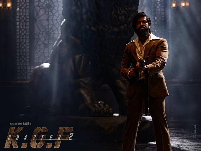संजय दत्त और यश की फिल्म केजीएफः चैप्टर 2