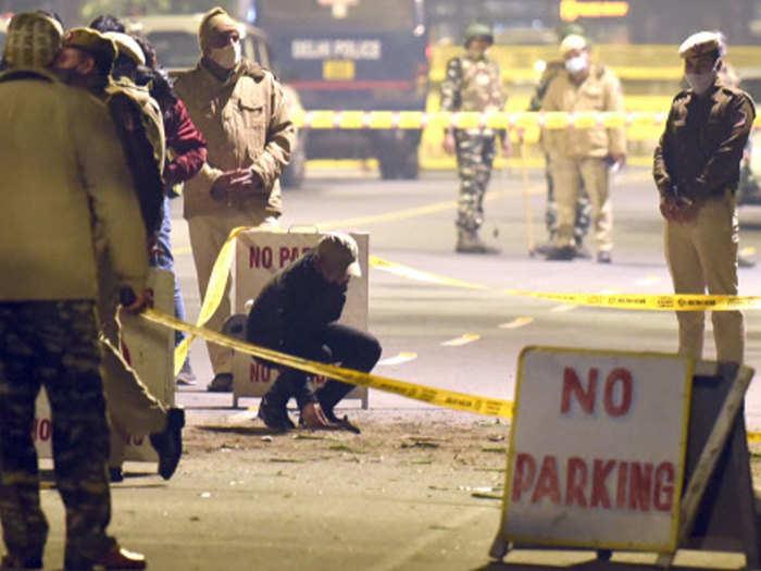 delhi on high alert after blast near israeli embassy