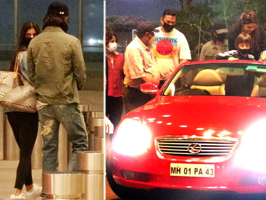 Shah Rukh Khan Arrives With His Swanky Car To Drop Suhana