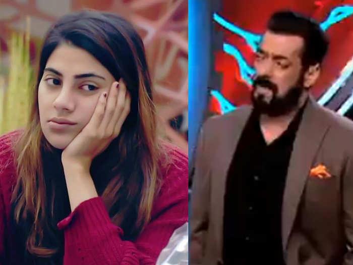 salman Khan Gets Angry On Nikki Tamboli