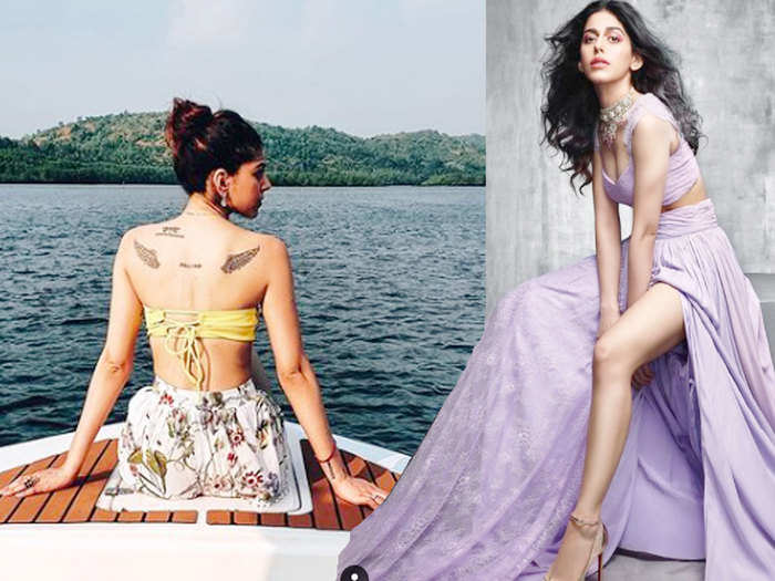 alaya furniturewalla usually flaunt her beautiful leg and attractive back secrets to get celebrity like skin