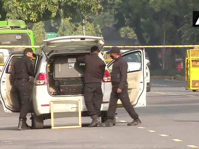 nsg investigating blast outside israeli embassy in delhi found some clothes