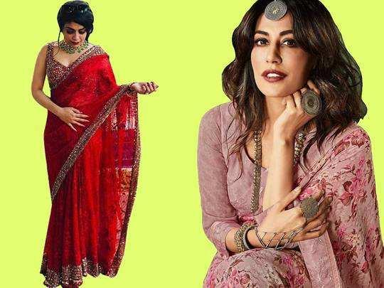 Saree Look : पार्टी में स्पेशल दिखने की चाहत है तो ट्राय करें लेटेस्ट फैशन की ये साड़ियां