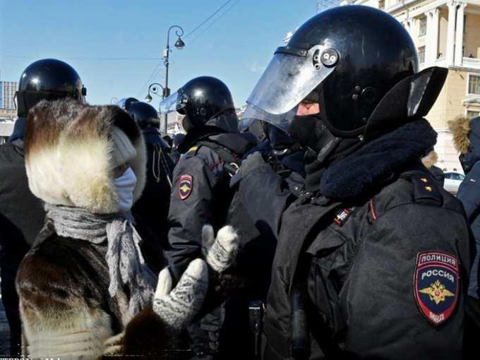 اعتراض روسیه 091