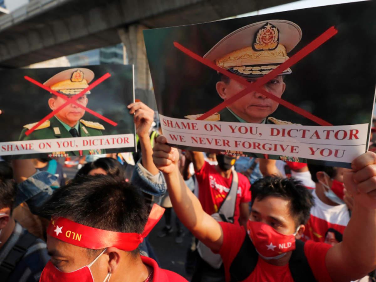 Myanmar Coup: Why did military coup in Myanmar: म्यांमार में सेना ने क्यों  किया तख्तापलट - Navbharat Times