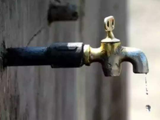 पश्चिम उपनगरातील काही भागांत आज पाणी बंद