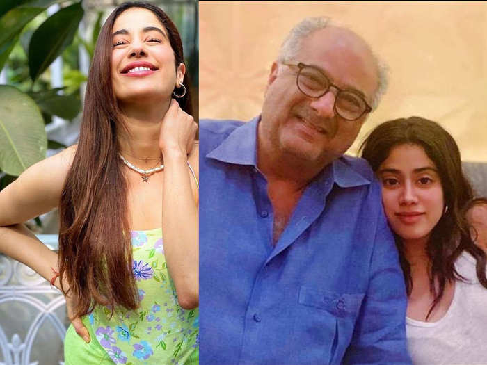 when Janhvi Kapoor lied to her Dad