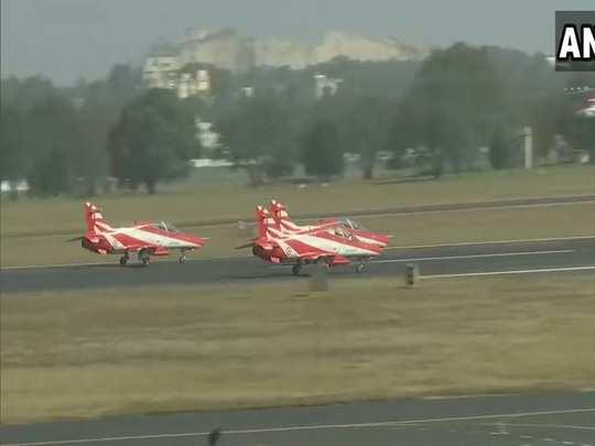 rehearsal for aero india show underway in bengaluru preparrations