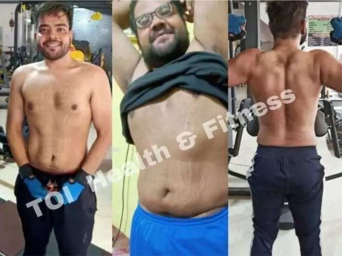 weight loss success stories of student who lost 40kg weight in 5 months read diet plan and workout routine