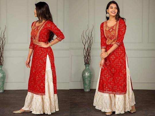Womens Kurti On Amazon : 1,000 रुपए से भी कम कीमत पर मिल रही लेटेस्ट डिजाइन वाली यह Womens Kurti