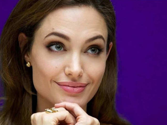 angelina jolie get eyebrow tattoo for smudge free perfect arch