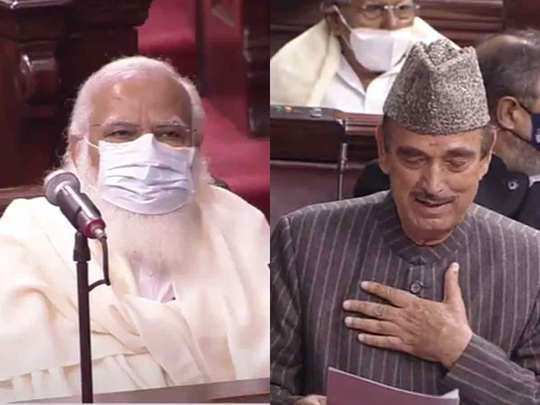 congress mp ghulam nabi azad gave examples of british eras farmers protests in front of pm modi in rajya sabha