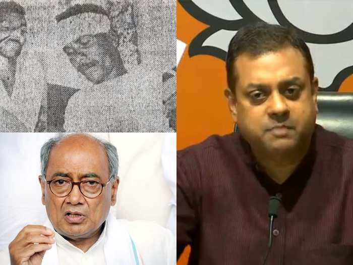 multai police firing : police had gunned down 24 farmers with bullets in digvijay singh government, sambit patra reminded rahul gandhi