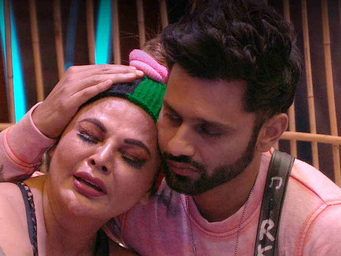 bigg boss 14 rakhi sawant shocking revelation a friend asked to remove her top on pretext of giving money for mother treatment