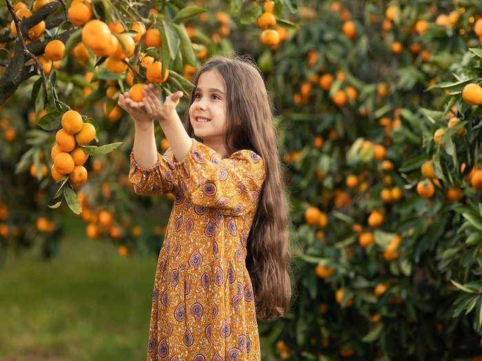 benefits of orange for baby in marathi