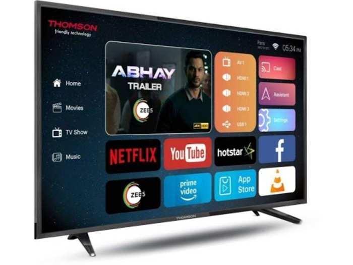 मात्र Rs 7,999 की सस्ती कीमत में Thomson स्मार्ट TV खरीदने का मौका