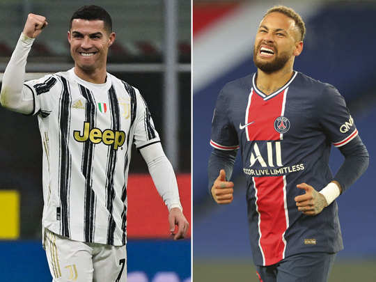 fans wishes happy birthday cristiano ronaldo and neymar as goat trending on twitter