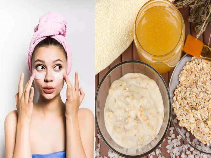 skin brightening home made scrub with poha