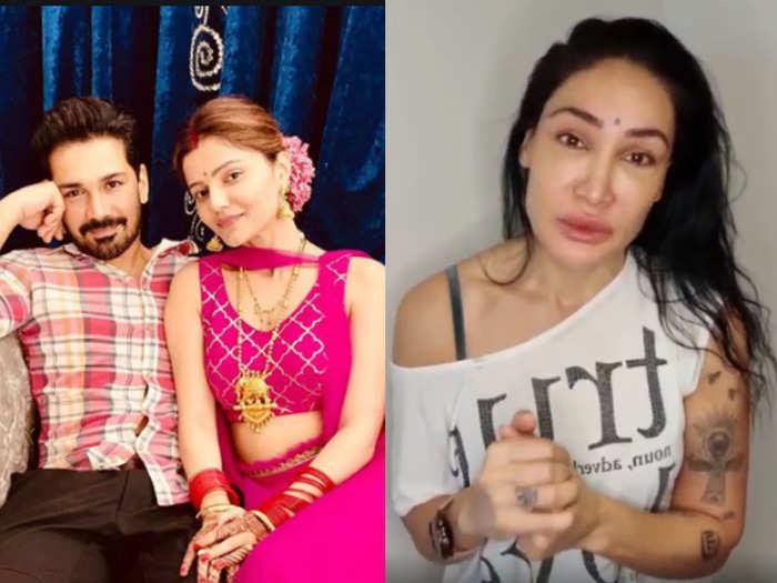 sofia hayat supports rakhi