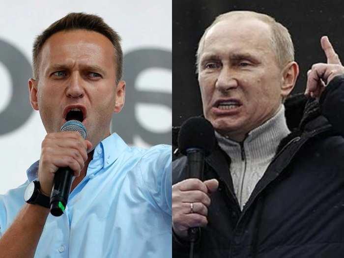 putin Alexei Navalny