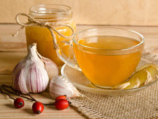garlic tea