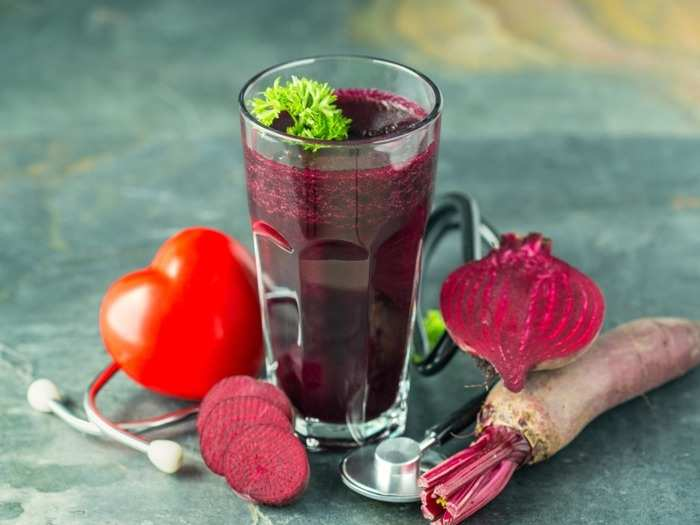 beet juice effective in controlling blood pressure how much to drink