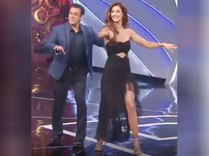 Salman Khan And Disha Patani
