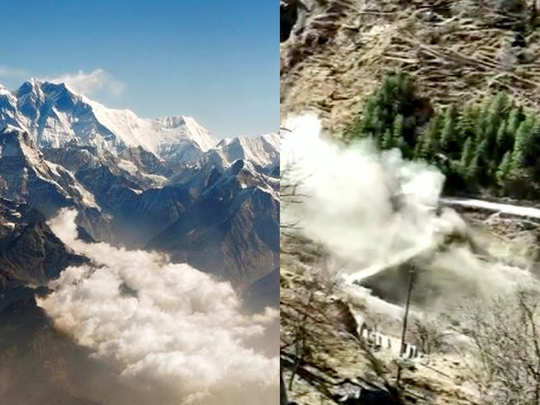 uttarakhand glacier avalanche in chamoli highlights the threat faced by the himalayas due to climate change