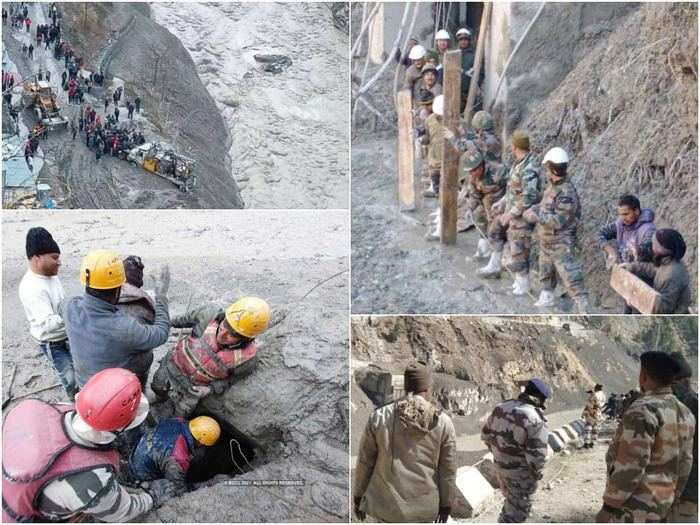 uttarakhand glacier burst news: stories of rescue by itbp and other forces