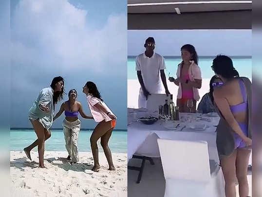 Alia Bhatt With Her Besties During Maldives Vacay