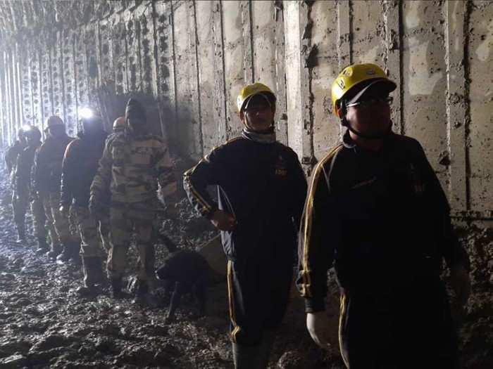 uttarakhand glacier lake outburst updates rescue operation goes on tunnels near tapovan