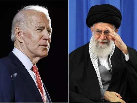 Joe Biden Ayatollah ali Khamenei Iran US