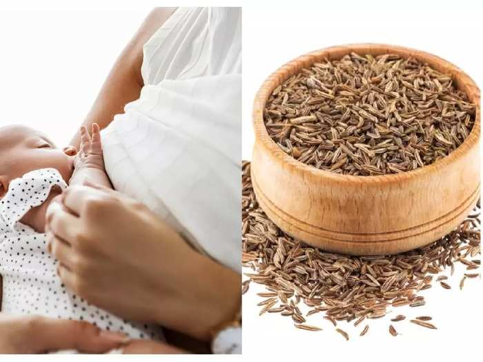 how to increase breast milk supply with cumin seeds in hindi