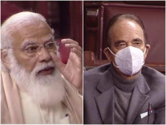 pm narendra modi emotional in rajya sabha on farewell of congress mp ghulam nabi azad, know both relationship