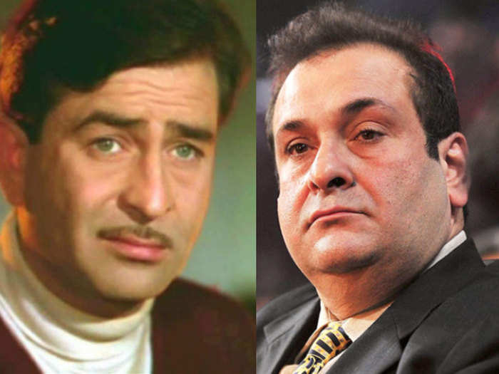 rajiv kapoor did not attend the funeral of his father raj kapoor