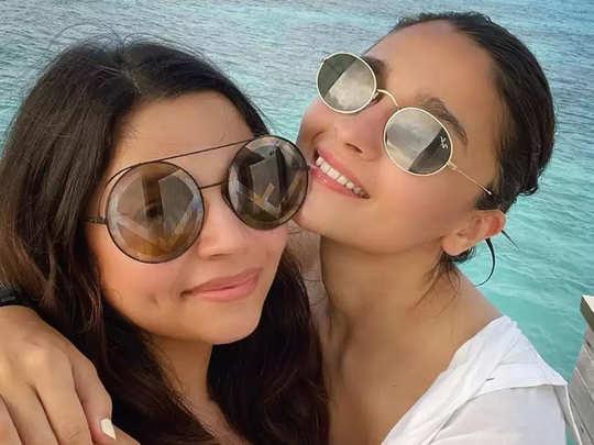 Shaheen Bhatt And Alia Bhatt