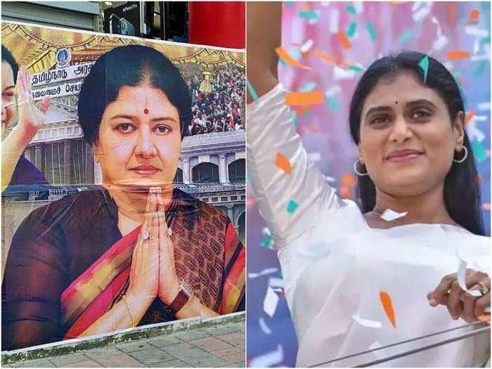 how sasikala in tamil nadu and ys sharmila in telangana ushering a new era of politics