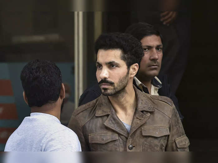 New Delhi: Actor Deep Sidhu, accused in the violence on Republic Day during a fa...