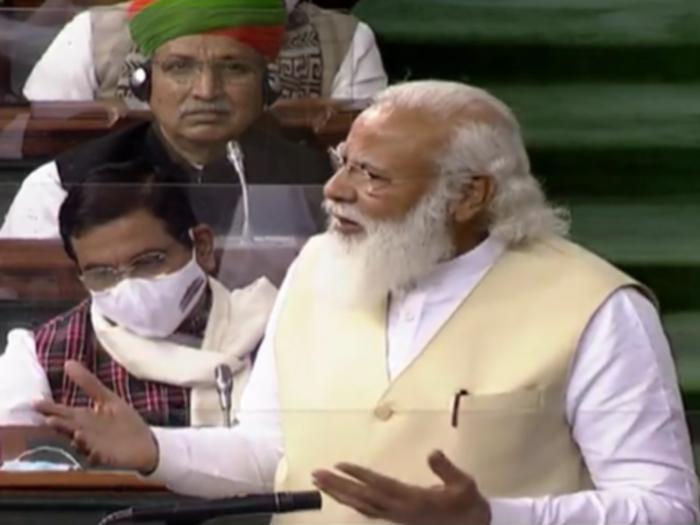 budget session 2021 pm modi lok sabha full speech and highlights