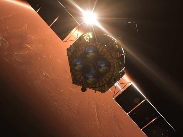 China Mars Mission 01